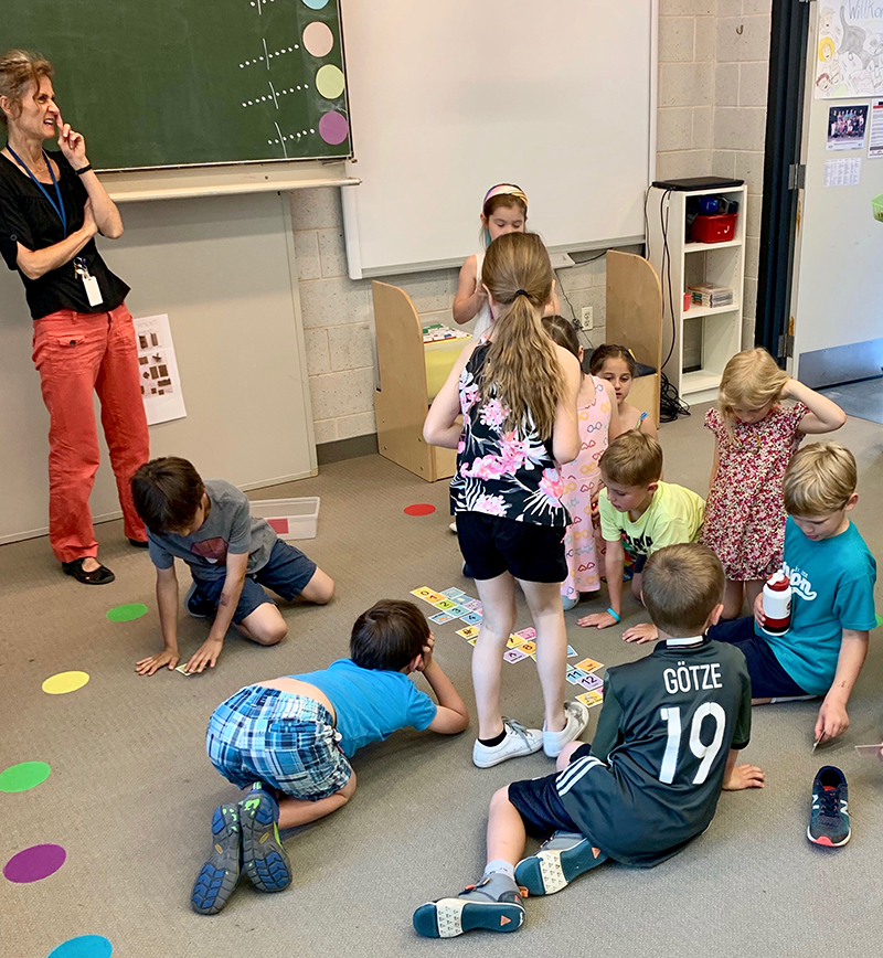 SEL - Cooperation with preschool and first grade - German